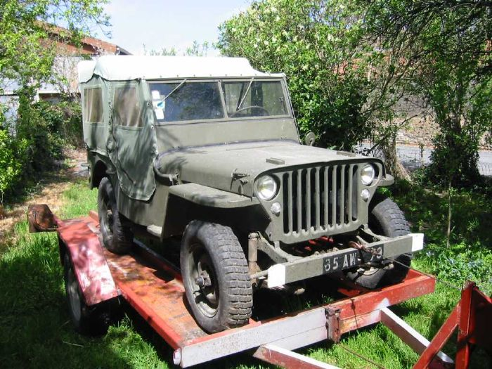 jeep willys m201 jeep willys mb 1943 vendre jeep hotchkiss m201 a. Black Bedroom Furniture Sets. Home Design Ideas