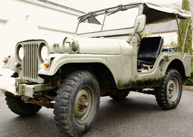 vds jeep willys m38a1 1956. Black Bedroom Furniture Sets. Home Design Ideas