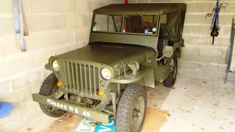 a vendre jeep hotckiss willys m 201 en bon tat 10 000