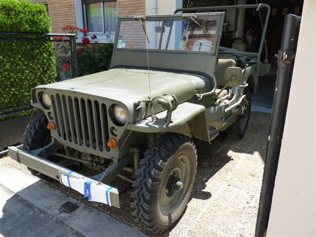 Vends willys M201