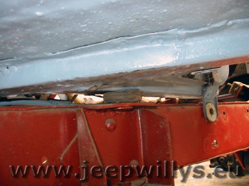 Caisse de Jeep Willys