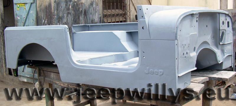 Caisse de Jeep CJ7