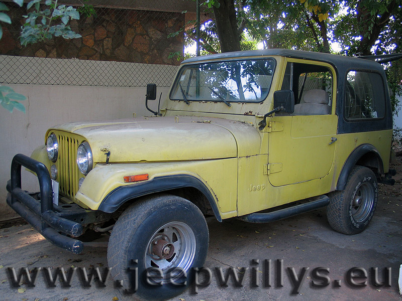 Jeep CJ7 4.2 L boîte auto 3 rapports 1977 - 1