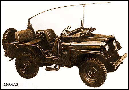 Jeep Willys M606A3, illustration