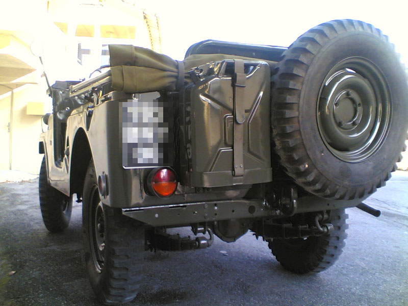 Jeep Willys M606A3, vue arrière