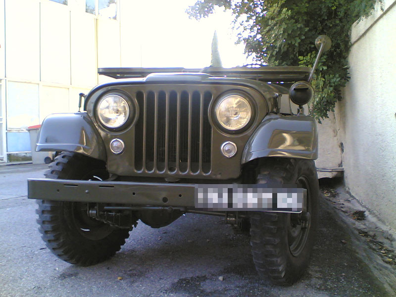 Jeep Willys M606A3, vue avant