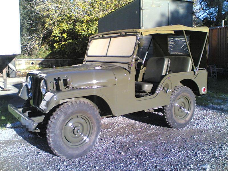 Jeep Willys M606A3, vue de profil