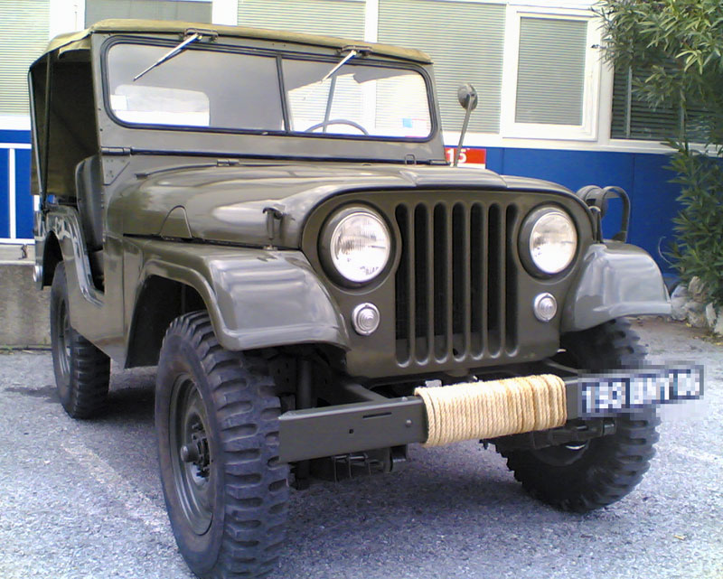 Jeep Willys M606A3