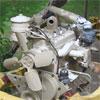Bloc moteur sur chassis