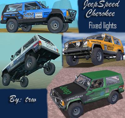 Jeep Speed XJ
