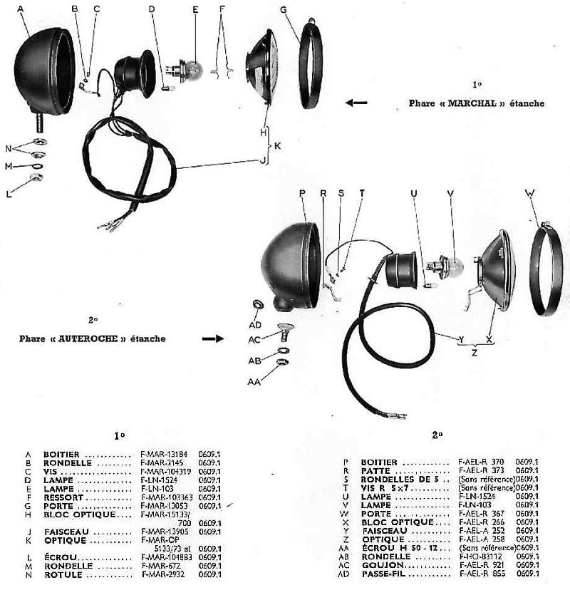 Phares 24 volts (2éme montage)